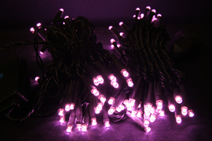 LEDストリングス ライトピンク コントローラー付