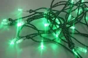 LEDストリングス 緑 P-100