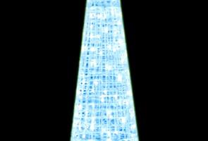 LEDクリスタルグロー ビッグコーン ホワイト(小)(現在完売中)