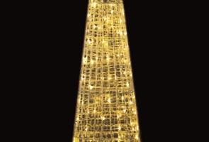 LEDクリスタルグロー ビッグコーン 電球色(中) (現在完売中)