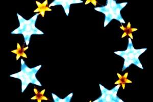 LEDクリスタルグロー スターリング ホワイト(大)