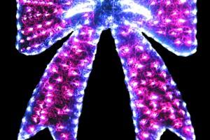 LEDクリスタルグロー リボン ピンク(現在完売中)
