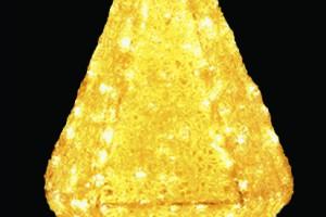 LEDクリスタルグロー ジュエル 電球色