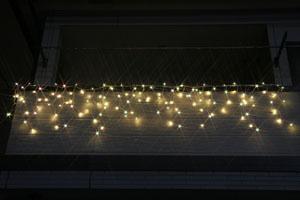 LEDつらら(トゥインクル) 電球色&ホワイト