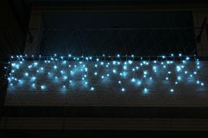 LEDつらら ライトブルー