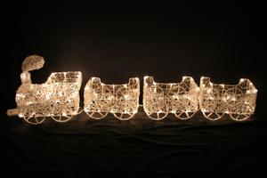 LEDクリスタルトレイン(電球色)