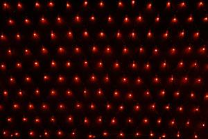 LEDネット アンバー