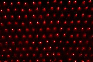 LEDネット レッド