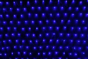 LEDネット ブルー