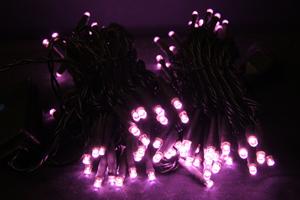 LEDストリングス ライトピンク