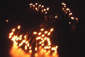 LEDストリングス オレンジゴールド