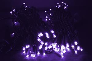 LEDストリングス ライトパープル コントローラー付