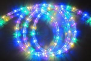 LEDチューブライト ミックス(電球色・ピンク・青・緑)