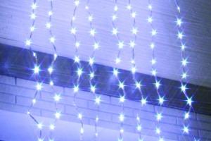 LEDカーテンライト ホワイト