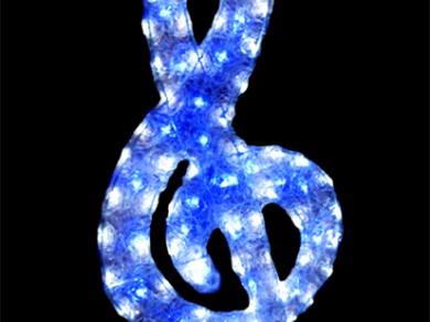 LEDクリスタルグロー ト音記号