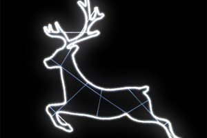 LEDロープライト ジャンピングトナカイ(現在完売中)