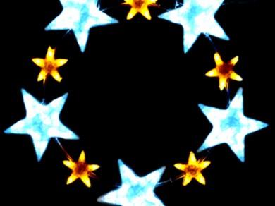 LEDクリスタルグロー スターリング ホワイト(小)