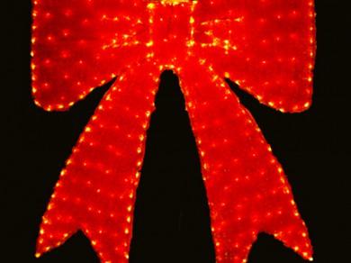 LEDクリスタルグロー リボン レッド(現在完売中)