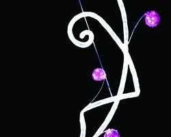 LEDロープライト  アラベスク ホワイト