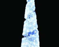 LEDクリスタルグロー ビッグコーンスパイラル ホワイト(小)(現在完売中)