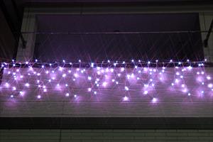 LEDつらら ライトパープル