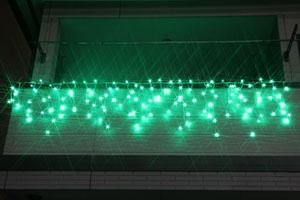LEDつらら グリーン