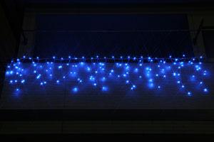 LEDつらら ブルー