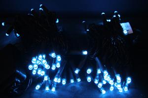 LEDストリングス アクアブルー コントローラー付