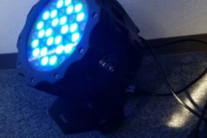 フルカラーLED照明